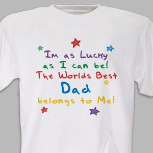 I'm Lucky (stars) Youth T-shirt