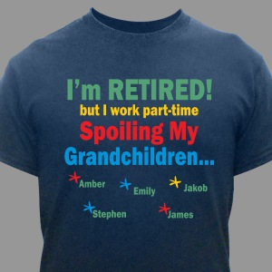 Personalized Grandpa Retirement Shirt