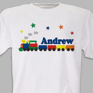 All Aboard Personalized Youth T-Shirt