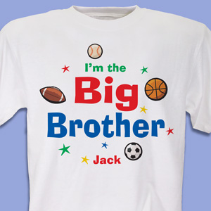I'm the Brother Sports Personalized Youth T-shirt