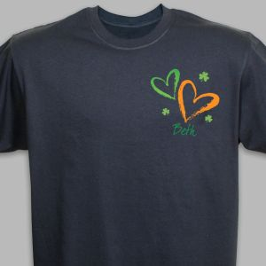 Hearts & Luck Personalized T-shirt