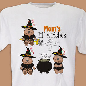 Lil Witches Personalized Halloween T-Shirt