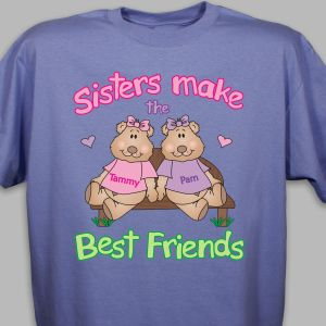 Sisters, Best Friends T-shirt