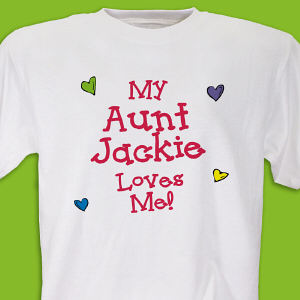 Who Loves Me Personalized T-shirt