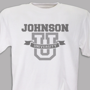 Personalized University T-Shirt