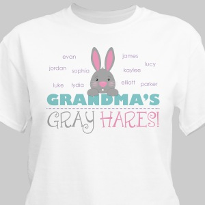 Personalized Bunny T-Shirt