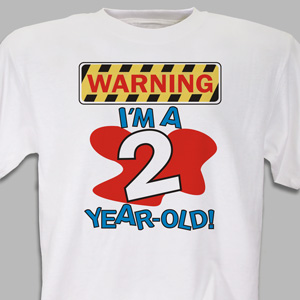 Warning Youth T-shirt