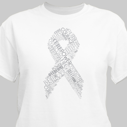 Ribbon Word-Art T-Shirt | Personalized T-shirts