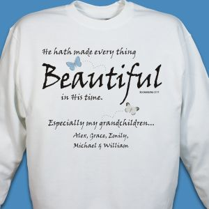 Made Everything Beautiful Sweatshirt