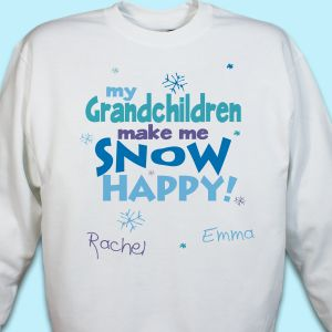 Snow Happy Sweatshirt