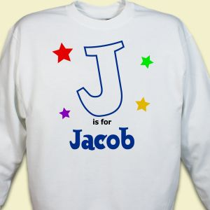 A is For... Stars Youth Sweatshirt