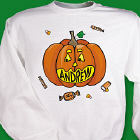 Personalized Pumpkin Name SweatShirt
