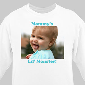Picture Perfect Personalized Photo Sweatshirt | Personalized Photo Gifts