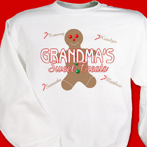 Personalized Sweet Treats Sweatshirt