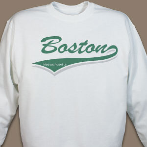 My City Personalized Sweatshirt