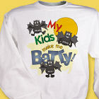 Batty Kids Halloween Sweatshirt