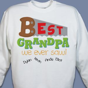 Personalized Grandfather Sweatshirt