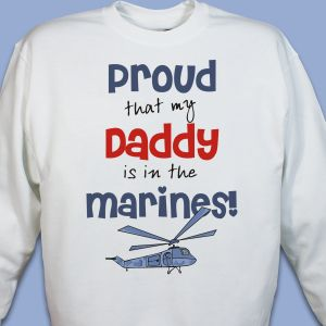 Proud Marines Youth Sweatshirt