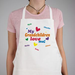 Love Me Personalized Apron