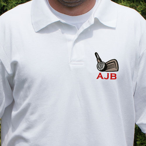 Hole In One Personalized Golf Polo Shirt