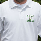 Embroidered Golf Polo Shirt