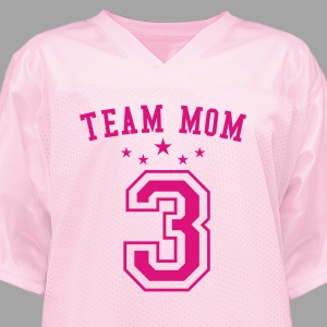 Personalized Team Mom Jersey