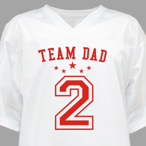 Team Dad Personalized Jersey | Dad shirts