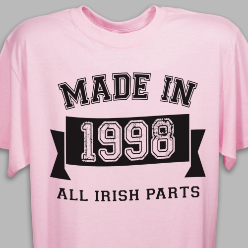 Made In Personalized T-Shirt 39762X