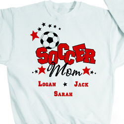 Soccer Personalized Sweatshirt
