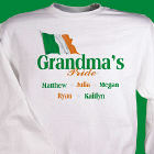 Irish Pride Personalized Sweatshirt