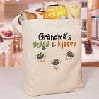 Bugs and Kisses Personalized Halloween Tote Bag