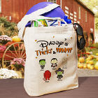 Tricks and Treats Character Personalized Tote Bag
