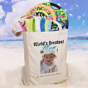 World's Greatest Personalized Photo Tote Bag