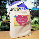 First-Time Grandma New Baby Personalized Tote Bag