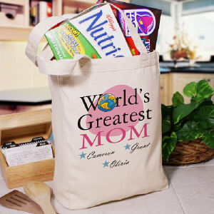 World's Greatest Personalized Tote Bag