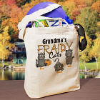 Fraidy Cats Personalized Halloween Tote Bag