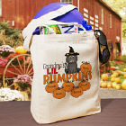 Lil Pumpkins Personalized Halloween Tote Bag