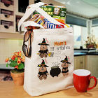 Lil Witches Personalized Halloween Tote Bag