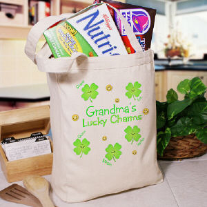 Lucky Charms Personalized Tote Bag
