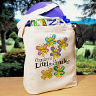Little Smiles Personalized Canvas Tote Bag