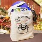 Caught in my Web Personalized Halloween Totebag