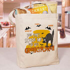 Can't Scare Me Personalized Halloween Totebag