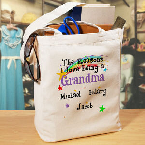 Reasons I Love Personalized Canvas Tote Bag