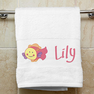Splish Splash Kids Personalized Towel