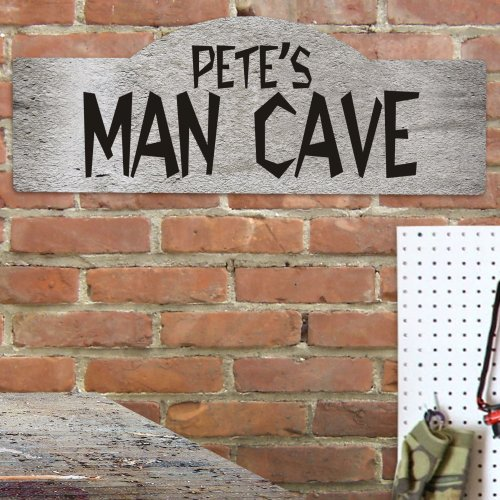 Best Man Cave Signs : Personalized man cave sign giftsforyounow