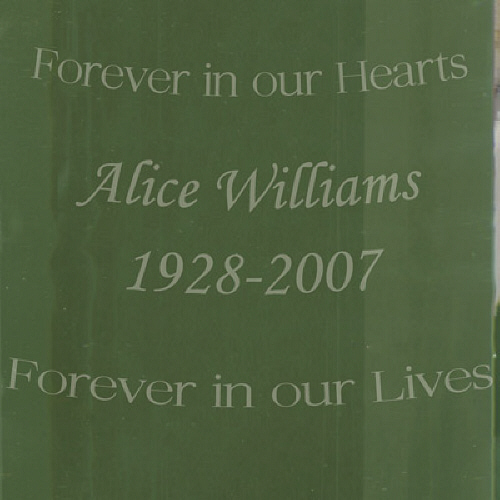 Engraved Floating Wedding Memorial Candle D3904P