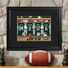 Personalized NFL Locker Room Matted Frame