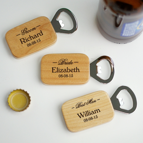 Bridal Party Engraved Bottle Opener L3338126