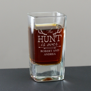 Wedding Shot Glass