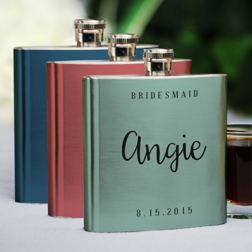 Bridal Party Flask | Personalized Bridesmaid Gifts